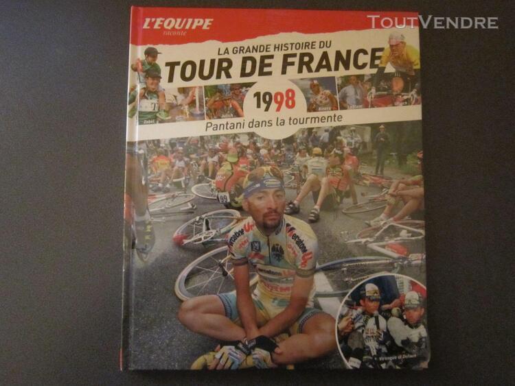 La grande histoire du tourdu tour de france n°32 pantani