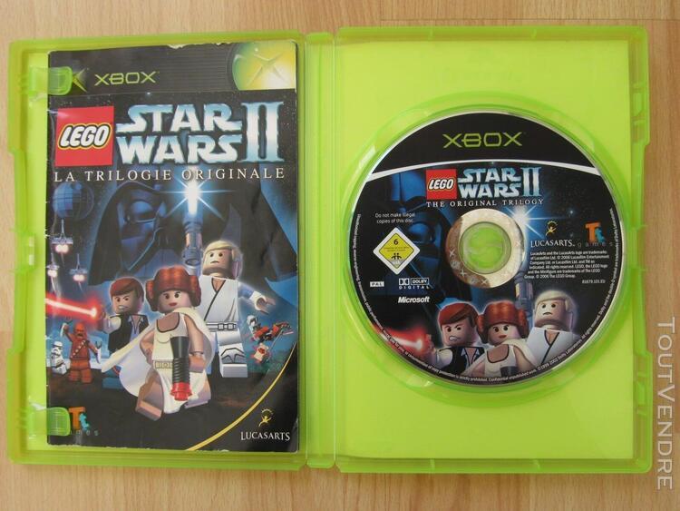 Lego star wars ii 2 - xbox - jeu en anglais non sous-titré