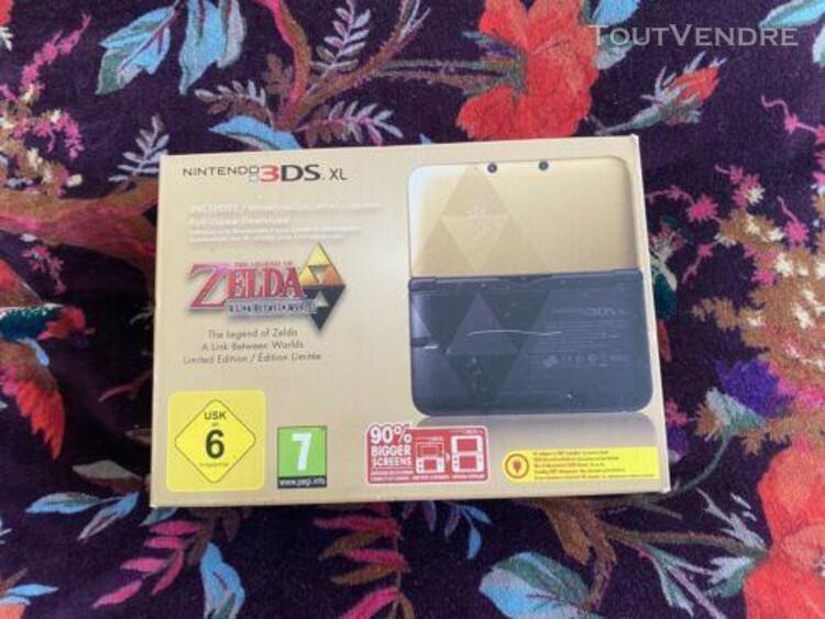 Nintendo 3ds xl edition limitée zelda a link between worlds