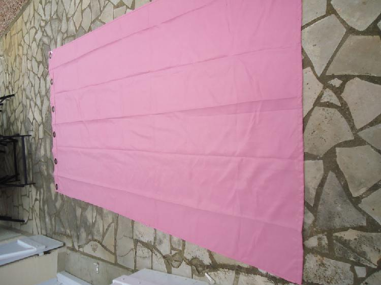 Rideaux rose occasion, portiragnes (34420)