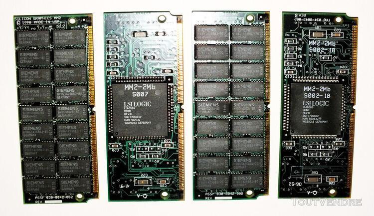 Sgi ✅ silicon graphics iris indigo r 3000 ✅ 4 x ram 2 mo