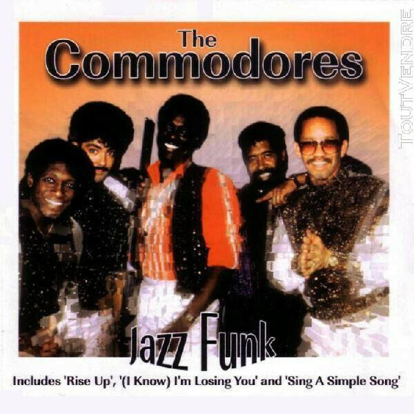 The commodores jazz funk cd