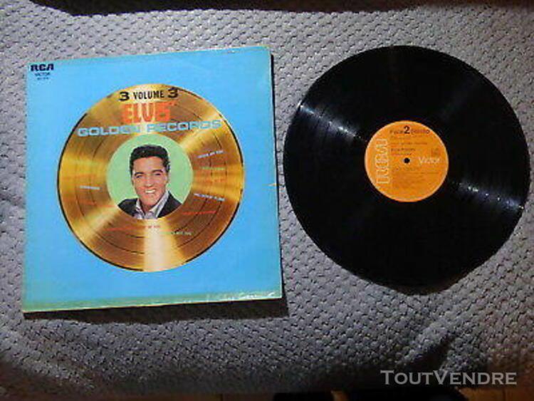 Vinyle 33 t elvis golden records volume 3