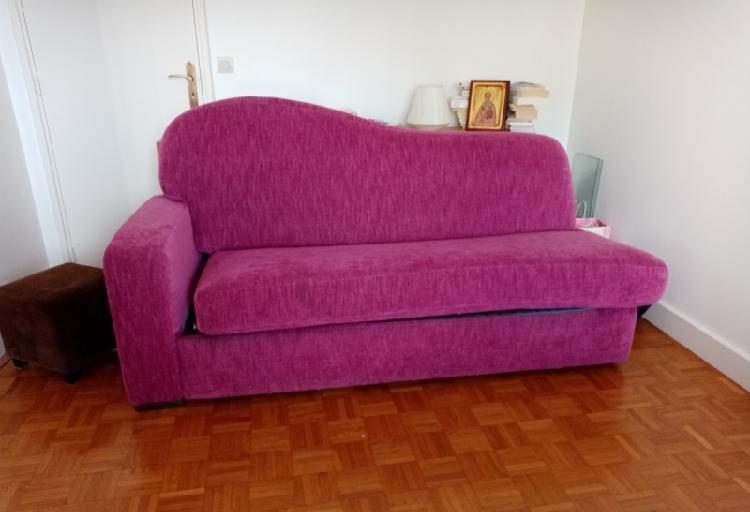Canapé lit la maison du convertible