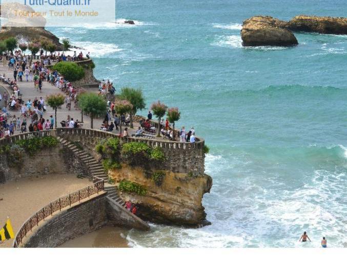 Loue studio biarritz face a la grande plage (...