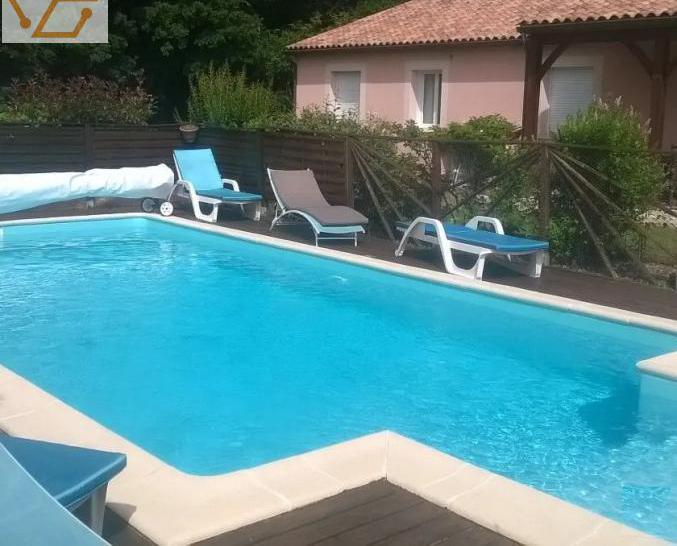 Maison de vacance, piscine privée