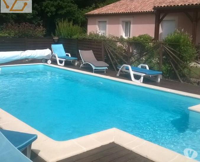 Maison de vacances wifi, piscine. 6personnes