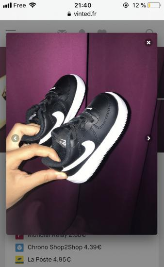 Nike baby air force one