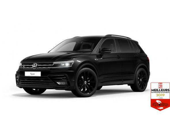 Volkswagen tiguan black r