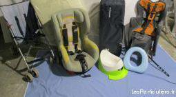 Accessoires bébé siège auto rotatif lit pliant
