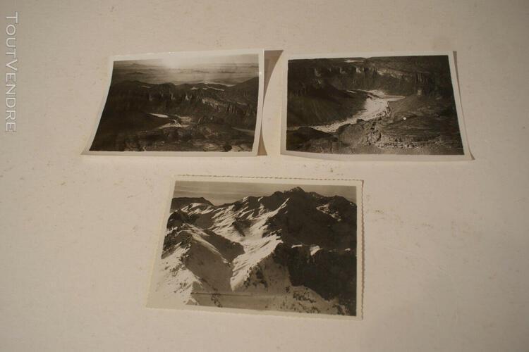 Algérie hoggar ruines inondation 8 photographies originales