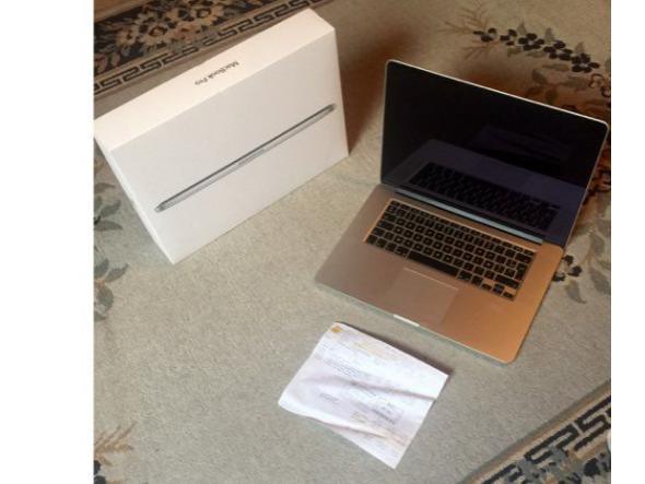 Apple macbook pro retina 15p mi