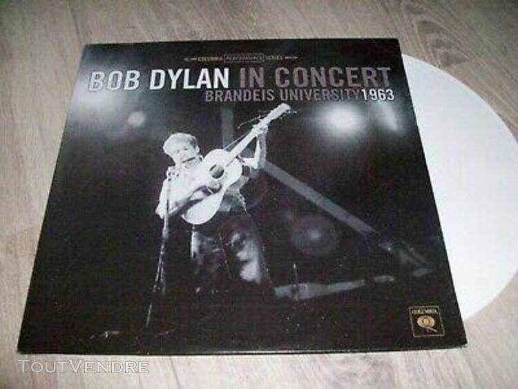 Bob dylan rare lp couleur in concert brandeis university 196
