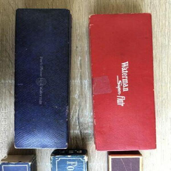 Boites pour stylo plume vintage fountain pen box waterman ba