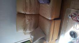 Canapé cuir électronique