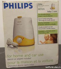 Chauffe biberon philips (maison et voiture)