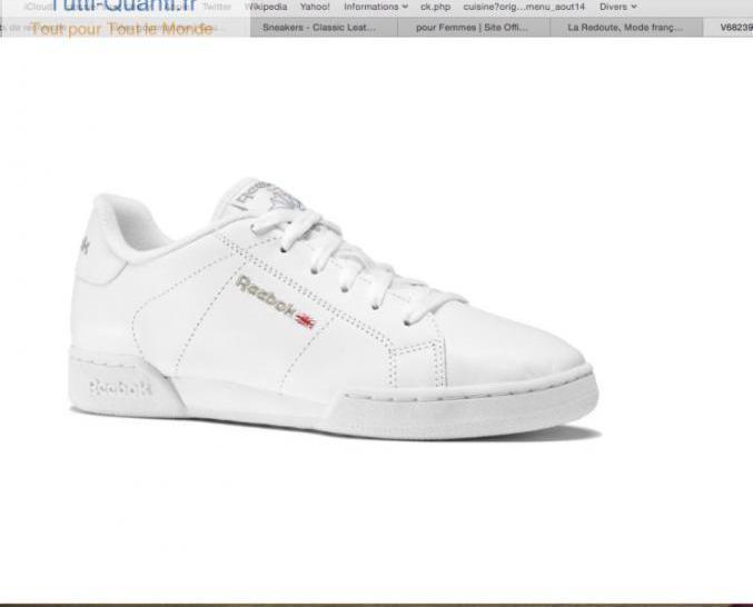 Chaussures reebok dames