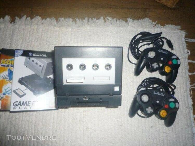 Game cube & game playeur & jeux