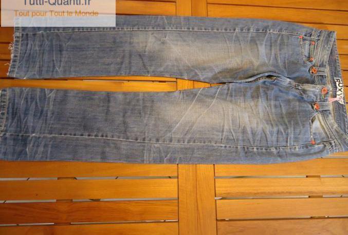 Jean roxy quiksilver pantalon femme 38/40 occ...