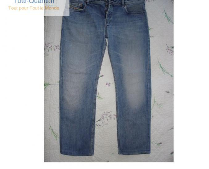 Jeans diesel zahan homme taille w40 fr50