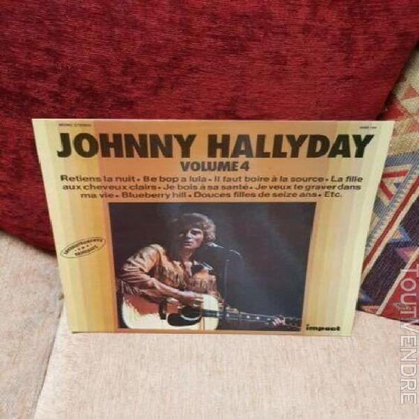 Johnny hallyday volume 4 lp original
