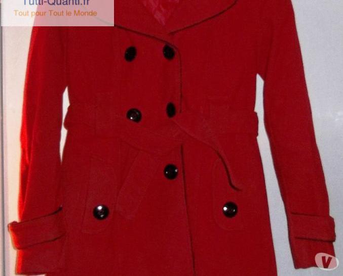 Magnifique manteau rouge
