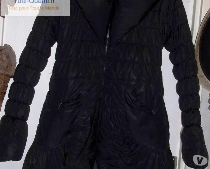 Manteau doudoune softy outwear polyester noir...