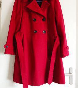 Manteau femme rouge