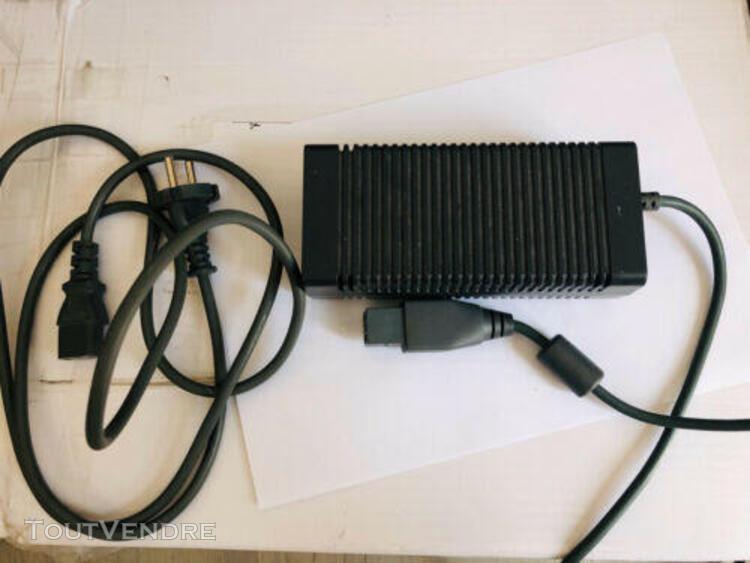 Microsoft xbox 360 cable alimentation adaptateur officiel 12