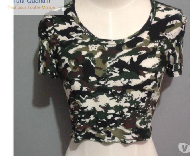 Mini tee shirt femme