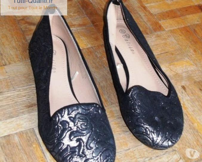 Neuf slippers catisa t40 argenté