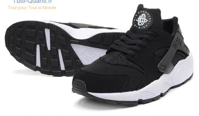 Nike air huarache utility men`s athletic snea...