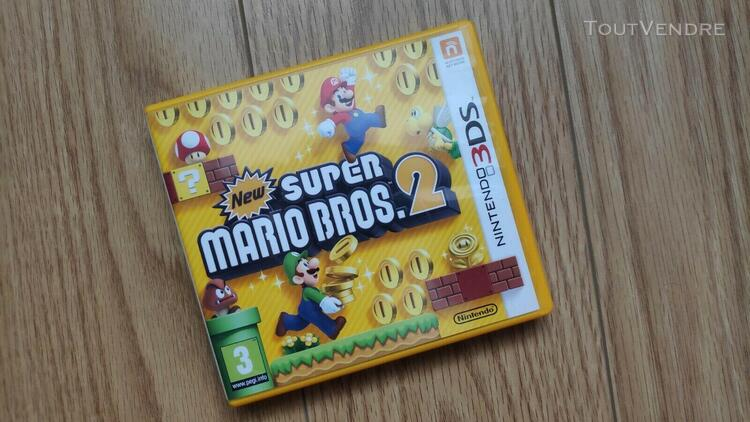 Nintendo 3ds: new super mario bros 2 + instruction notice (