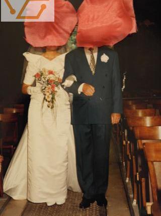 Robe de mariée fourreau taille 40/42.