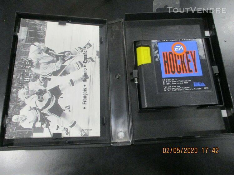 Sega mega drive electronic arts ea hockey complet