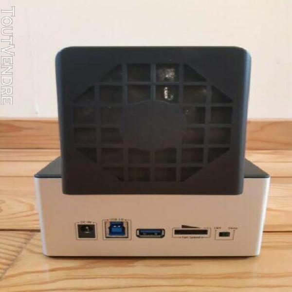 """Startech sdock2u33hfb station d'accueil pour disque dur 2,5"""""""