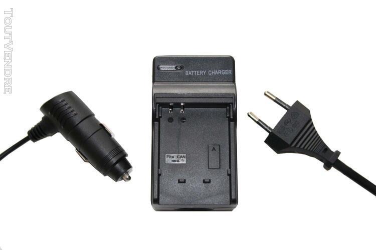 Vhbw chargeur de batterie compatible avec sony alpha a6300,