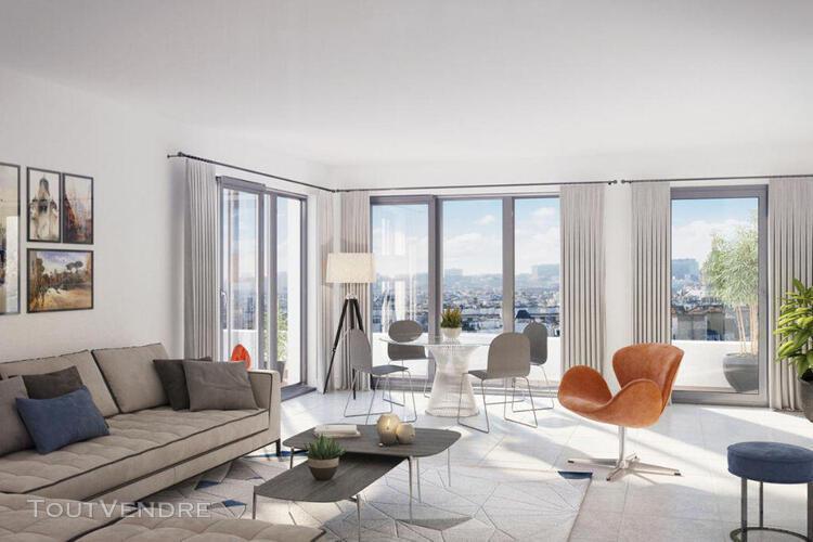 Ville la grand appartement t4 de 96m² dernier etage avec
