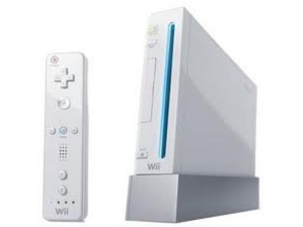 Wii blanche et accessoires