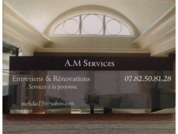 Am services vous propose ses services en rénovation,