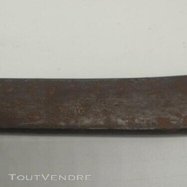 Ancienne grosse clé à molette n°50 acier fondu g.besancon