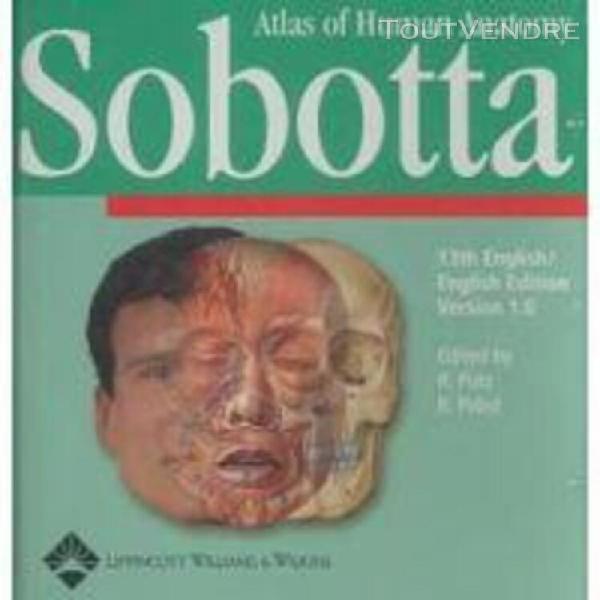 Atlas d'anatomie humaine sobotta - tome 1, tête, cou,
