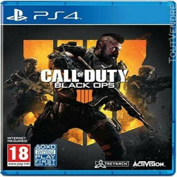 Call of duty black ops 4 ps4 vf occasion /!/