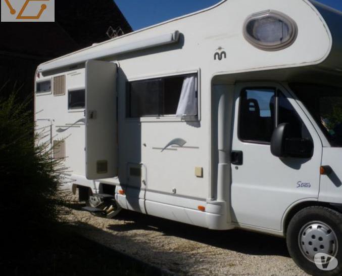 Camping-car mobilvetta sur fiat ducato 2.8 l...