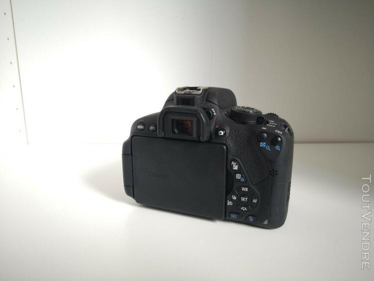 Canon eos 700d + canon 18-135 + sigma 70-300 + sac de transp