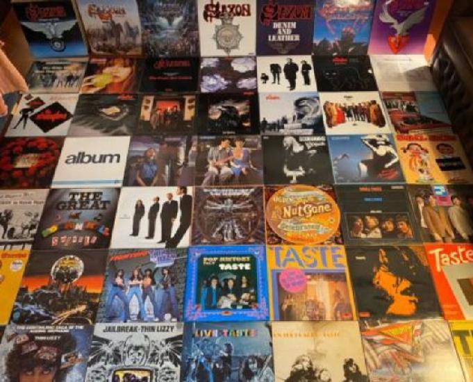 Collection de vinyles lp record