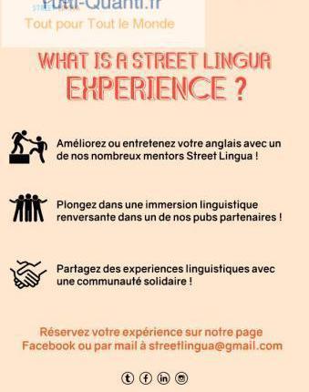 Cours d'anglais avec des natifs anglopho...