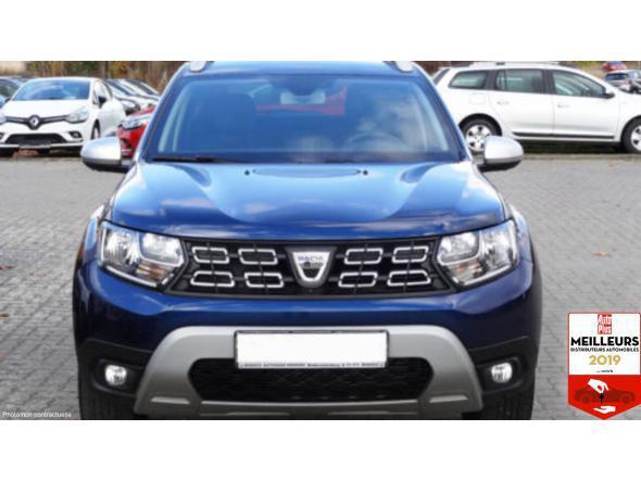 Dacia duster prestige blue dci 115 4x4 + sièges av chauf