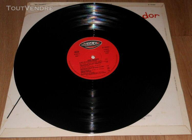 Disque vinyle 33 tours - henri salvador - autographe - label