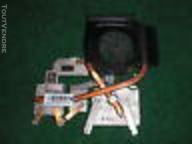 Hp dv6 - 2000 series - kit ventilateur / radiateur cpu